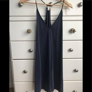 Nordstrom, Silence + Noise, blue Medium dress